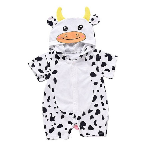Cow outfit romper