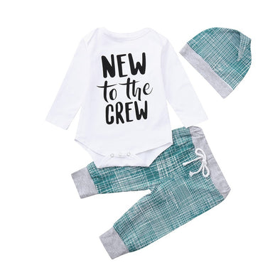 New To The Crew Baby Outfit