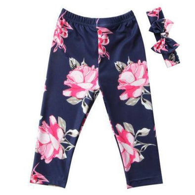 Pink floral pant