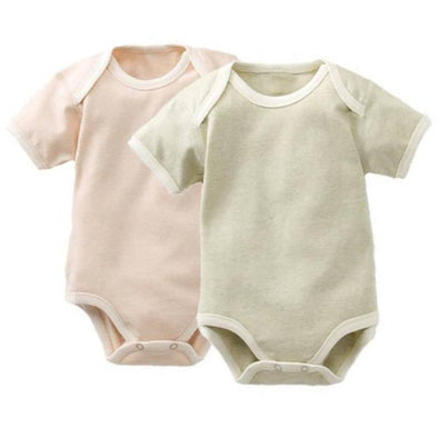 Simple Organic Cotton Baby Onesie