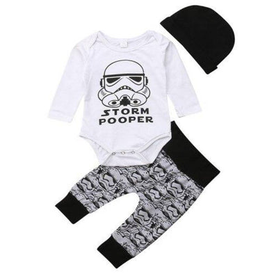 Storm trooper themed outfit