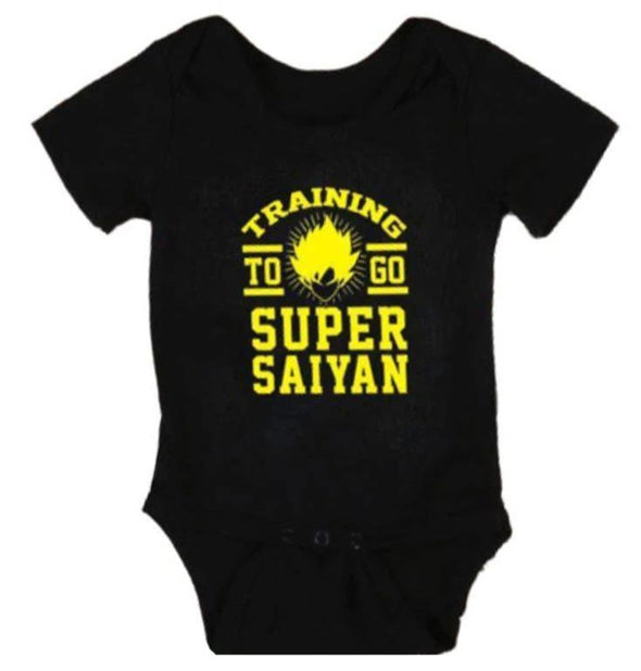 Training To Go Supper Saiyan Onesie