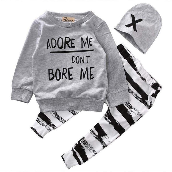 Adore Me Don't Bore Me! 3 Piece Set-outfit-Lavendersun