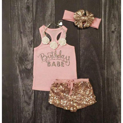 Birthday Babe 3 piece set
