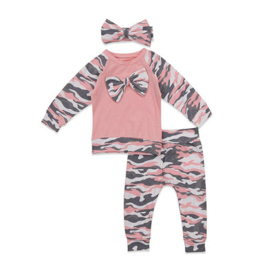 Camo-bow outfit product image - Lavendersun