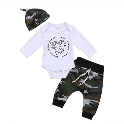 Camo Mama Boy outfit product image - Lavendersun