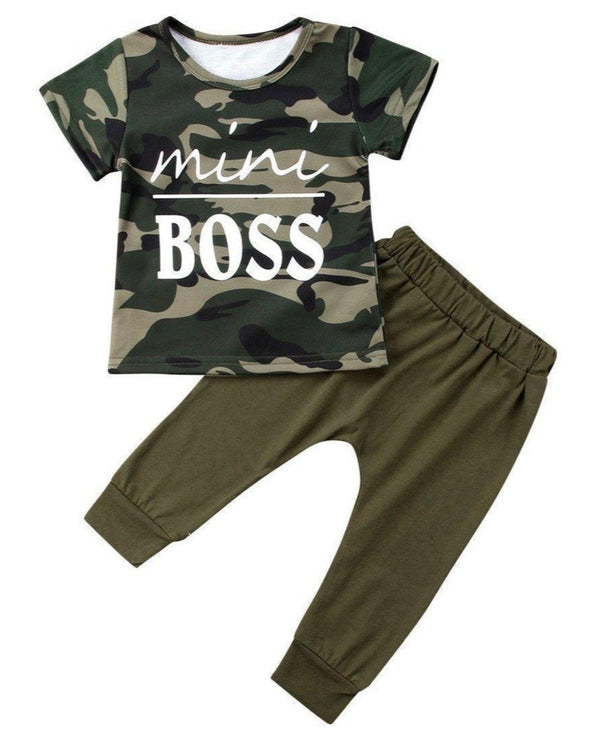 Camo Mini Boss 2 Piece Set-outfit-Lavendersun