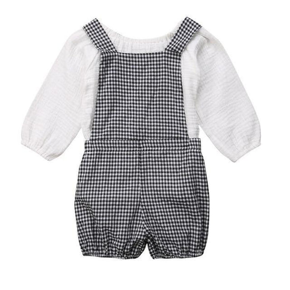 Checkered Overall Outfit-outfit-Lavendersun