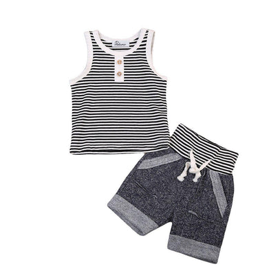 Coolest Little Kid 2 Piece Set-outfit-Lavendersun