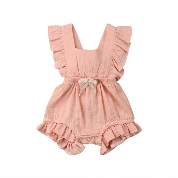 Cotton Candy Angelic Romper-romper-Lavendersun