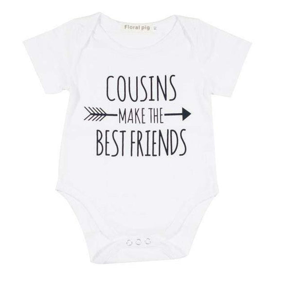 Cousins Make The Bestfriends Onesie-onesie-Lavendersun