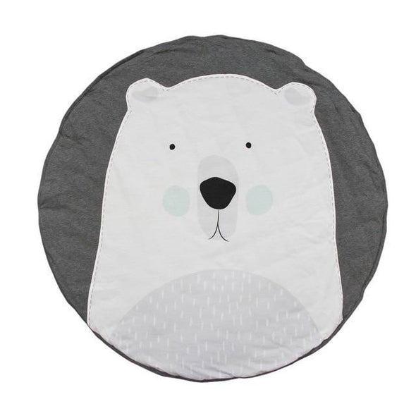 Curious Polar Bear Play Mat-accessories-Lavendersun