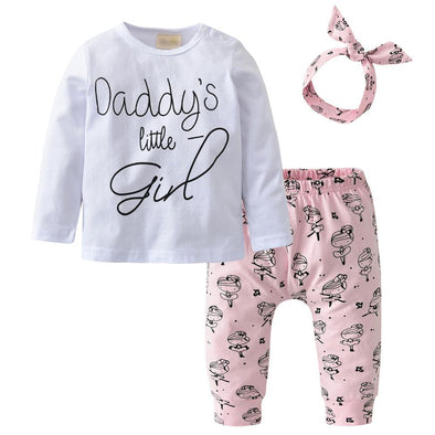 Daddy Little Girl Outfit-outfit-Lavendersun