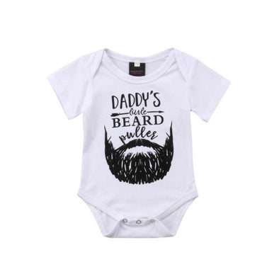 Daddy's Little Beard Onesie-onesie-Lavendersun