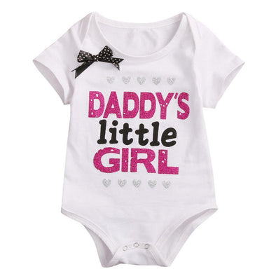 Daddy's Little Girl Onesie-onesie-Lavendersun
