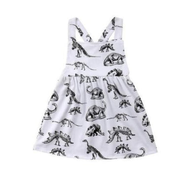 Dino Themed Dress-dress-Lavendersun