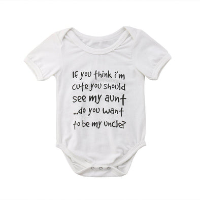 Do you want to be my uncle onesie-onesie-Lavendersun