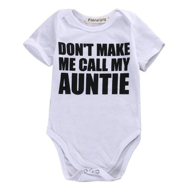Don't Make Me Call My Auntie Onesie-onesie-Lavendersun