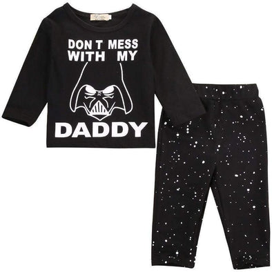 Don't Mess With My Daddy 2 Piece Set-outfit-Lavendersun