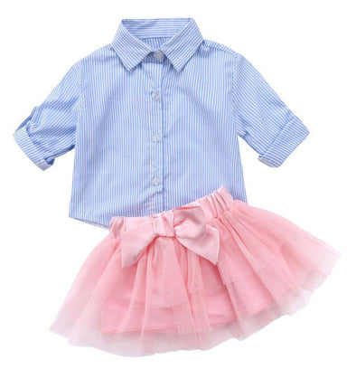 Fashion tutu 2 piece set-outfit-Lavendersun