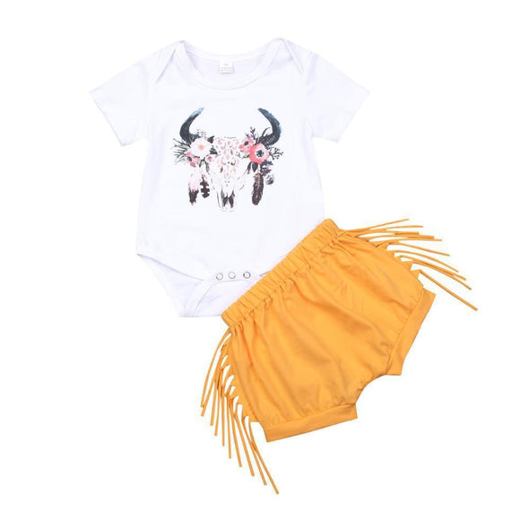 Flower deer head outfit product image - Lavendersun
