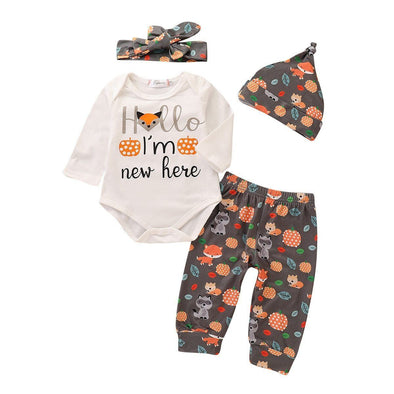 Foxy Hello I'm New Here-outfit-Lavendersun
