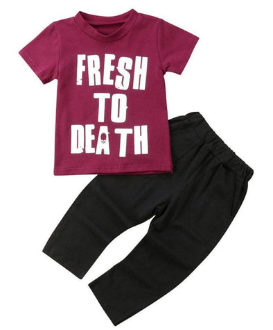 Fresh To Death 2 Piece Set-outfit-Lavendersun