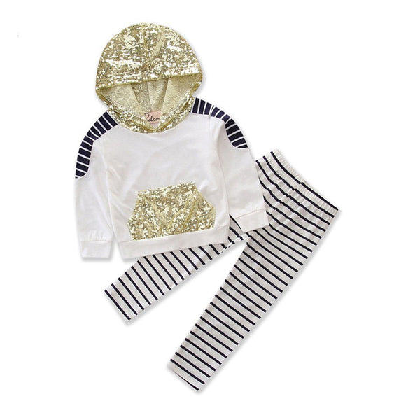 Glittery gold outfit product image - Lavendersun