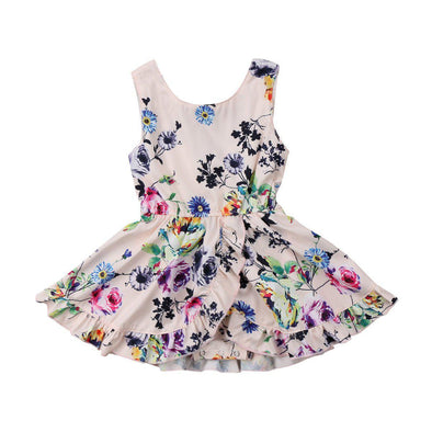 Heliconia floral dress product image - Lavendersun