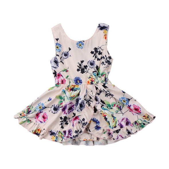 Heliconia Floral Dress-dress-Lavendersun