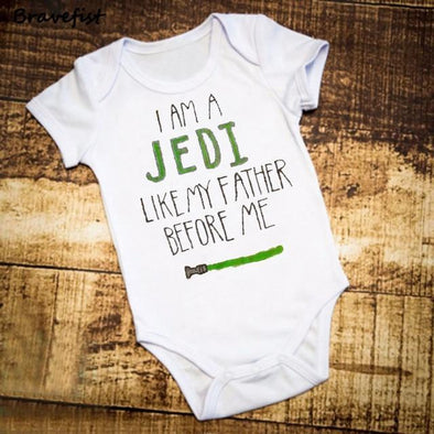 I Am A Jedi Like My Farther Before Me Onesie-onesie-Lavendersun