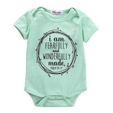 I am fearfully and wonderfully made onesie product image - Lavendersun