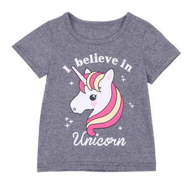 I Believe In Unicorn Shirt-shirt-Lavendersun