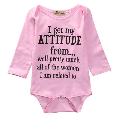 I get my attitude from onesie product image - Lavendersun