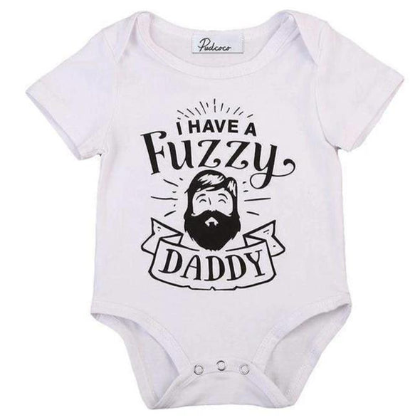 I have a fuzzy daddy onesie product image - Lavendersun