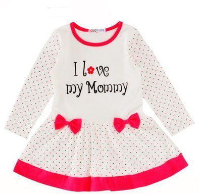 I Love My Mommy Dress-dress-Lavendersun