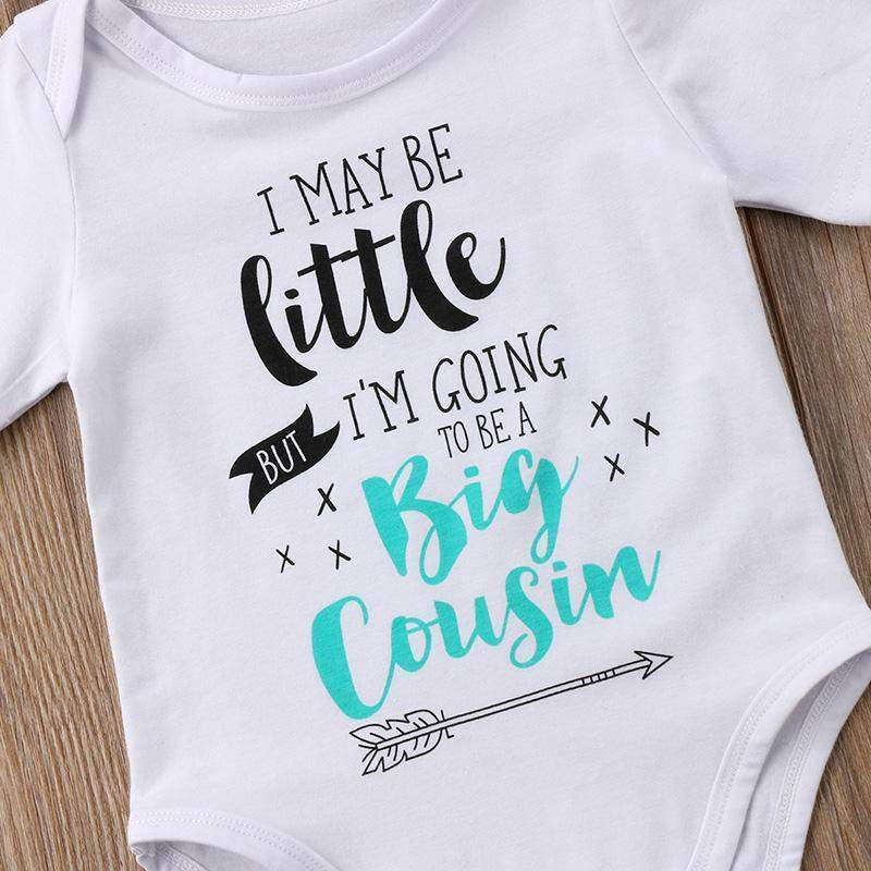 13500149 I May Be Little But I'm Going To Be A Big Cousin Onesie   Lavendersun