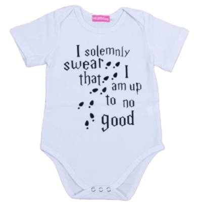 I Solemnly Swear That I Am Up To No Good Onesie