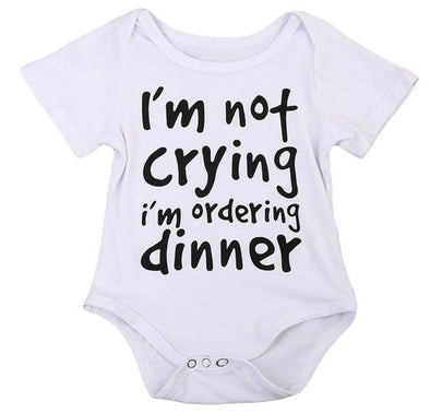 I'm not crying i'm ordering dinner onesie-onesie-Lavendersun