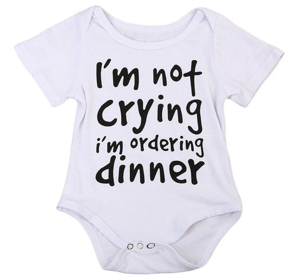 I'm not crying i'm ordering dinner onesie product image - Lavendersun