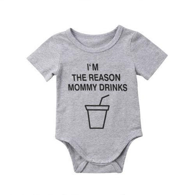 I'm the reason mommy drinks onesie