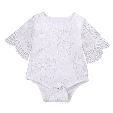 Laced onesie product image - Lavendersun