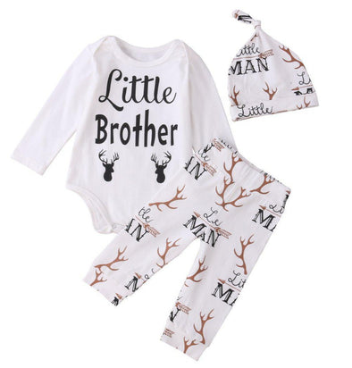 Little Elk Brother 3 Piece Set-outfit-Lavendersun