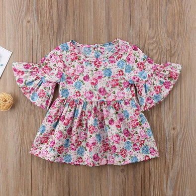 Little Flowered Dress-dress-Lavendersun