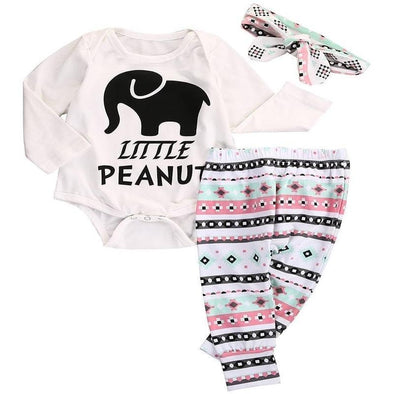 Little Peanut 3 Piece Set-outfit-Lavendersun
