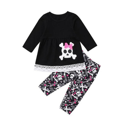 Little Pirate Girl 2 Piece Set-outfit-Lavendersun