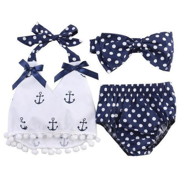 Little Sailor 3 Piece Set-outfit-Lavendersun