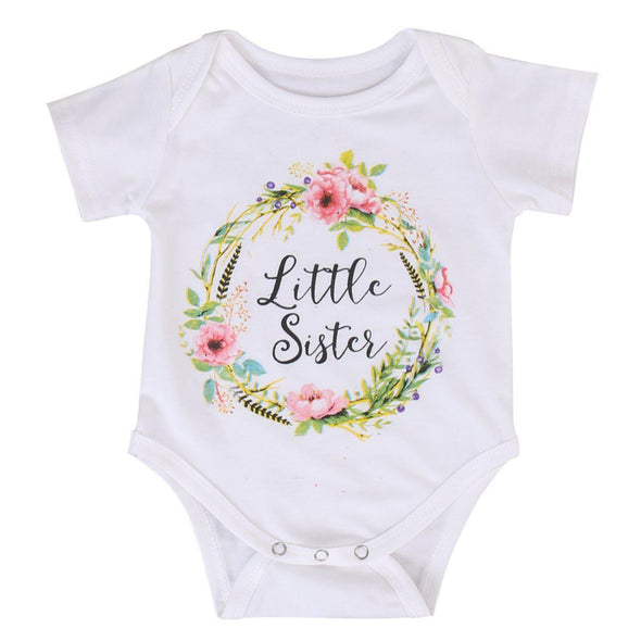 Little Sister Onesie And T-Shirt-onesie-Lavendersun