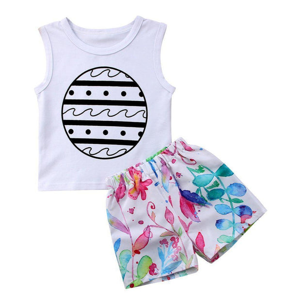 Little Surfy Kid 2 Piece Set-outfit-Lavendersun