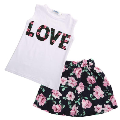 Love Dress 2 Piece Set-outfit-Lavendersun